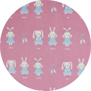 Japanese Import, CANVAS, Bunny Beauties Pink
