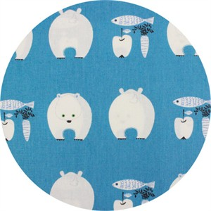 Japanese Import, CANVAS, Bears Bounty Blue
