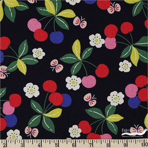 Japanese Import, CANVAS, Cherry Bloom Black