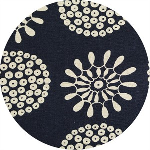 Japanese Import, CANVAS, Groovy Floral Indigo