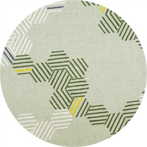 Japanese Import, Summer Vibes CANVAS, Honeycomb Stripe Mint