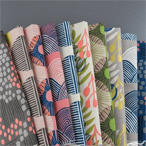 Jen Hewett for Cotton and Steel, Imagined Landscapes, CANVAS in FAT QUARTERS 10 Total
