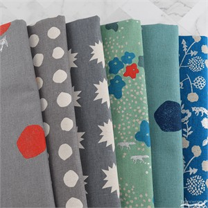 Echino, Summer 2018, CANVAS, Prowl in FAT QUARTERS 6 Total