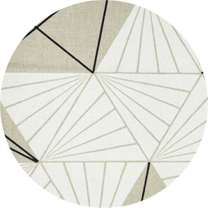 Japanese Import, CANVAS, Triangle Stripe Natural