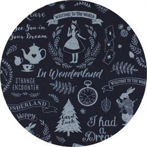 Japanese Import, CANVAS, Wonderland Dreams Navy