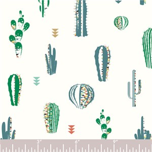 COMING SOON, Jay-Cyn Designs for Birch Organic Fabrics, Zuni Pueblo, Cactus Field