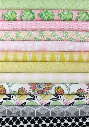 Joel Dewberry for Free Spirit, Cali Mod in FAT QUARTERS 11 Total