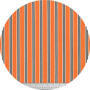 Verna Mosquera for Free Spirit, Candelabra, Candy Stripe Orange