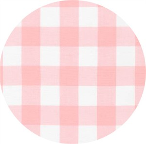 "Robert Kaufman, Carolina Gingham 1"", Petal"
