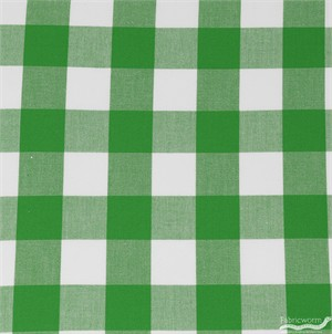 Robert Kaufman, Carolina Gingham 1 Inch, Kelly