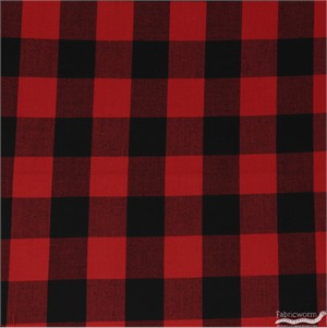 Robert Kaufman, Carolina Gingham 1 Inch, Scarlet