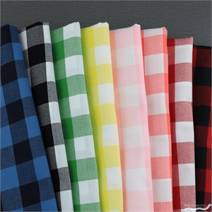 Robert Kaufman, Carolina Gingham 1 Inch Prismatic in FAT QUARTERS 8 Total (PRECUT)