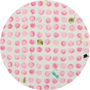 Cosmo Textiles, Cat Dot Pink