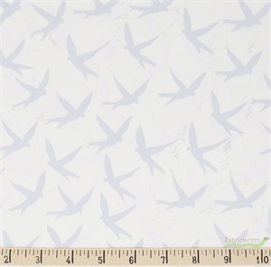 Valori Wells, Marmalade Dreams, COMBED COTTON, Birds Silver
