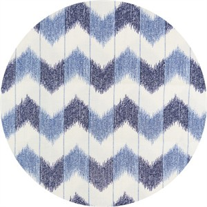 Japanese Import, Indigo Print, Chevron Indigo Cream