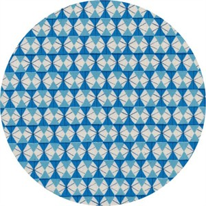 COMING SOON, Kimberly Kight for Cotton and Steel, Welsummer, Chicken Wire Bright Blue