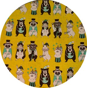 Japanese Import, CANVAS, Circus Fun Mustard