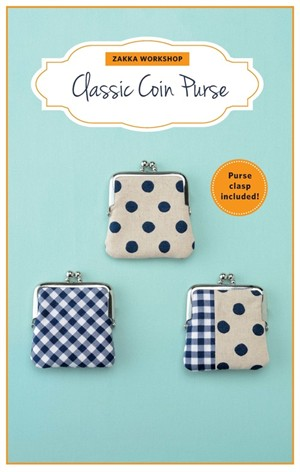 Zakka Workshop, Classic Coin Purse Kit