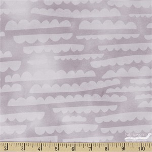 Emmie K for Robert Kaufman, Lou Lou, Clouds Plum