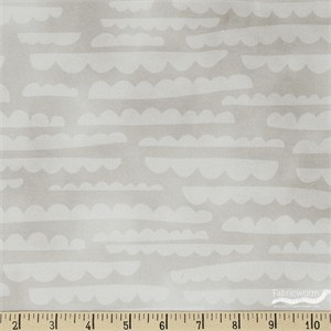 Emmie K for Robert Kaufman, Lou Lou, Clouds Taupe