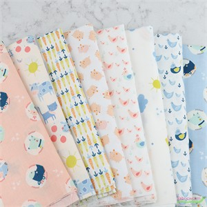 Camelot Fabrics, Cluck Moo Oink in FAT QUARTERS 8 Total