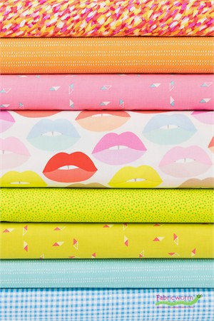 Fabricworm Custom Bundle, Colourpop Lips in FAT QUARTERS 8 Total