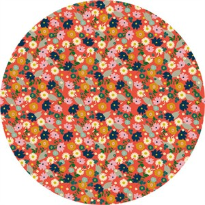 Elizabeth Grubaugh for Blend, Garden Roost, Confetti Flower Coral