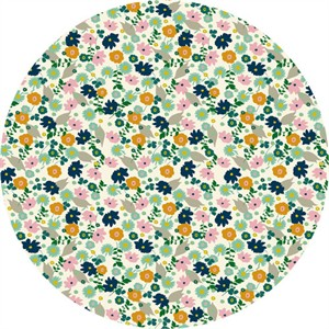 Elizabeth Grubaugh for Blend, Garden Roost, Confetti Flower Ivory