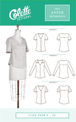 Colette, Sewing Pattern, Aster