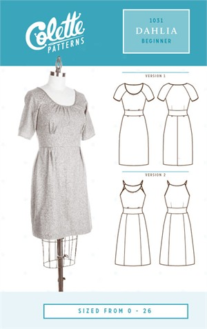Colette, Sewing Pattern, Dahlia