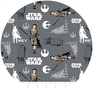 Camelot Fabrics, Star Wars: The Force Awakens, Rey Iron