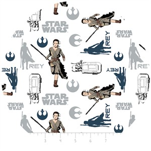 Camelot Fabrics, Star Wars: The Force Awakens, Rey White