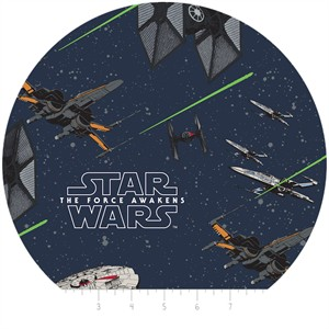 Camelot Fabrics, Star Wars: The Force Awakens, Ships