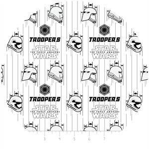Camelot Fabrics, Star Wars: The Force Awakens, Stormtroopers White