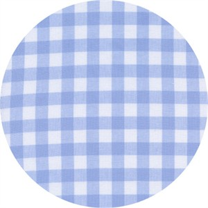 Cotton and Steel, Checkers, Half Inch, Gingham Sky