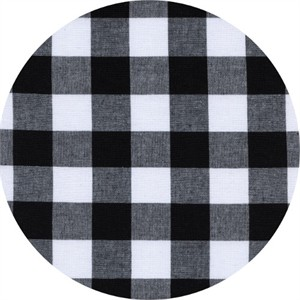 COMING SOON, Cotton and Steel, Checkers, Gingham Black