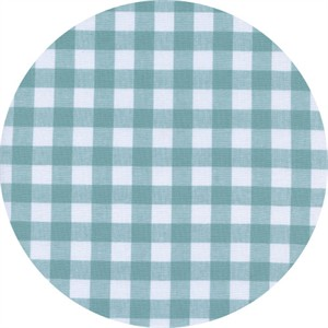 Cotton and Steel, Checkers, Half Inch, Gingham Story Blue