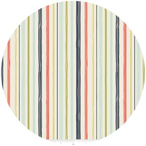 Design by Dani for Riley Blake, Woodland Spring, Stripe Navy
