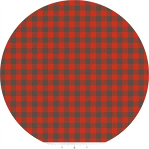 Design by Dani for Riley Blake, High Adventure, Plaid Red
