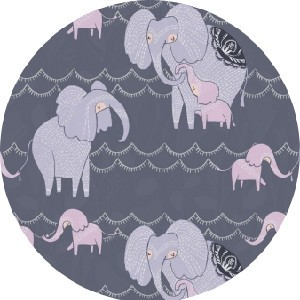 Rae Ritchie for Dear Stella, Dreamscape, Counting Elephants Pewter