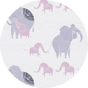 Rae Ritchie for Dear Stella, Dreamscape, Counting Elephants White