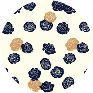 COMING SOON, Jay-Cyn Designs for Birch Organic Fabrics, Mod Nouveau, CANVAS, Roses Gold