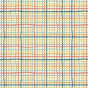 Jay-Cyn Designs for Birch Organic Fabrics, Farm Fresh, DOUBLE GAUZE, Woven Multi