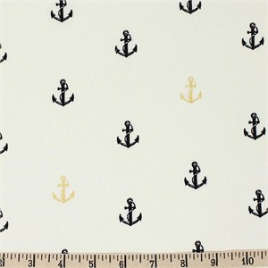 COMING SOON, Jay-Cyn Designs for Birch Organic Fabrics, Inkwell, Little Anchor Metallic