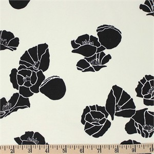 Jay-Cyn Designs for Birch Organic Fabrics, Inkwell, KNIT, Cali Pop Black
