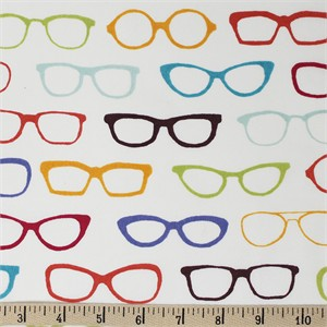 COMING SOON, Jay-Cyn Designs for Birch Organic Fabrics, Summer of 62', Glasses