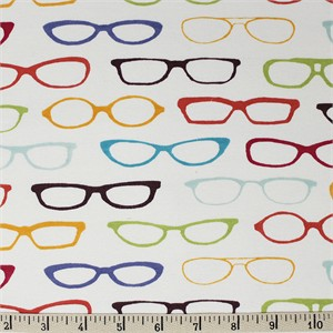 Jay-Cyn Designs for Birch Organic Fabrics, Summer '62, KNIT, Glasses