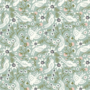 COMING SOON, Kristen Balouch for Birch Organic Fabrics, Folkland, KNIT, Sweet Tweet Mineral