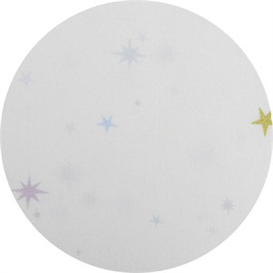 Lizzy House for Andover, The Whisper Palette, Twinkle Twinkle White Metallic