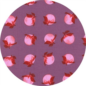 Melody Miller for Cotton and Steel, Fruit Dots, Peaches Orchid